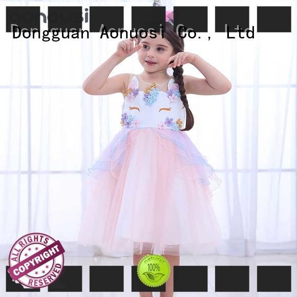 Wholesale little girl prom dresses birthday for kids
