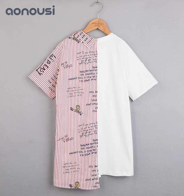 Girls Summer Fashion Cotton Dresses Newly Designed Kids Fashion Clothes korean design fashion clothes