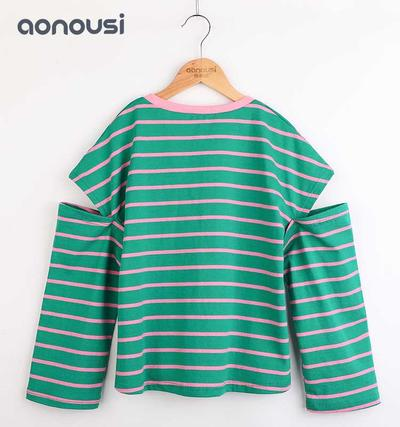 Girls Summer Fashion Cotton T-shirts Wholesale
