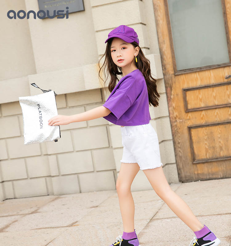 Aonousi cotton fancy shirts for girls directly sale for girls-Childrens Clothing Wholesale,Wholesale