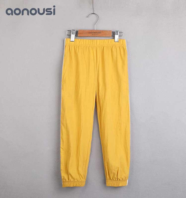 Girls anti-mosquito pants thin spring and summer children's lanterns air-conditioned Pants Girls casual pants