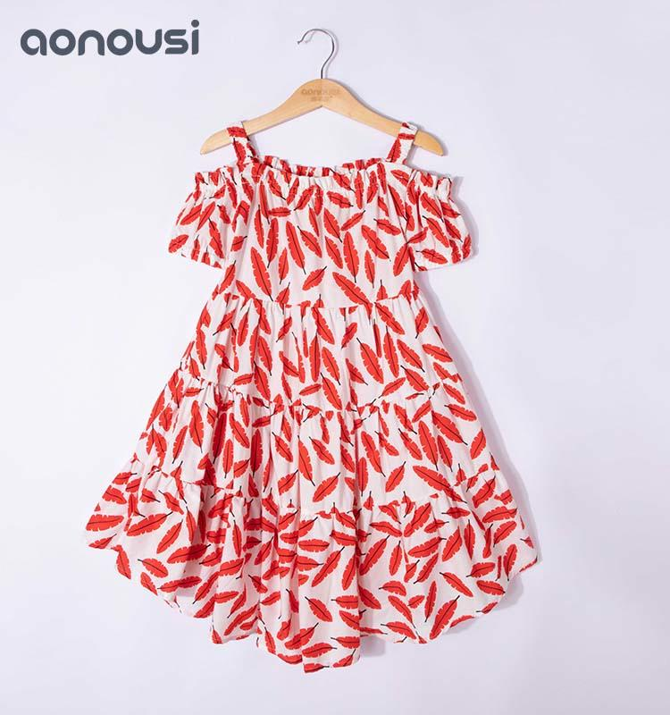 Kids Clothes and Girls'Summer Bohemian Skirts New Wholesale in 2019