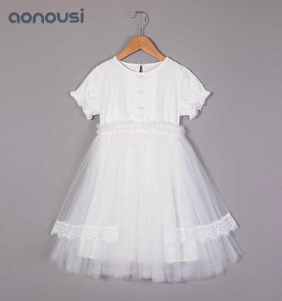Girls lace dress&skirt,summer dress, children's waistcoat skirt, new Korean version of children's Princess skirt 2019