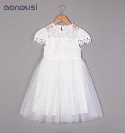 baby Girls lace dress summer dress, children's waistcoat skirt, new Korean version of children's boutique Princess skirt 2019