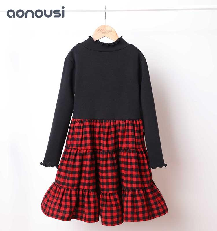 Children's Clothing Girls Autumn and Winter Dresses Girls'Fashion Dresses&skirt  Wholesale