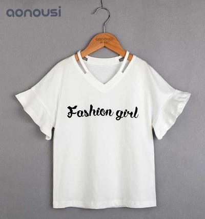 Selling little girl clothes Summer Suit Korean Big Girl Suit children latest dress style