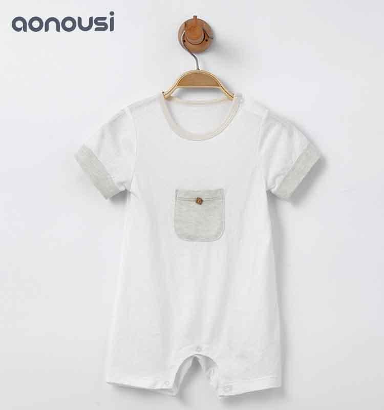 Baby Short Sleeve Sleeve Clothing for Babies and Babies Sleepwear for Neonates
