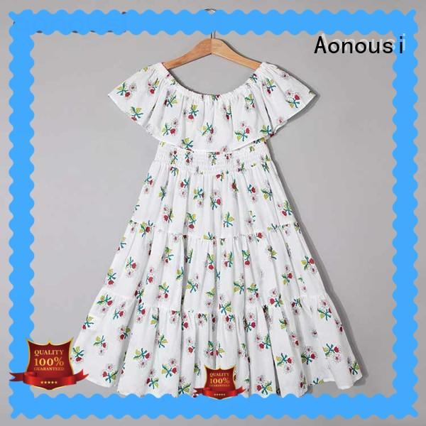 high-quality dress kids girl for wholesale for girls Aonousi