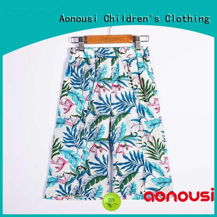 airconditioned girls trousers sale bulk production for girls Aonousi