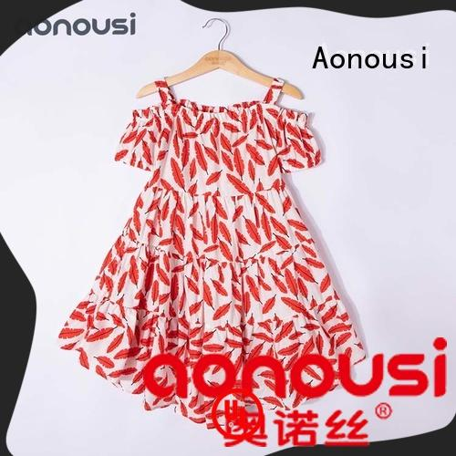 Aonousi collared kids boutique clothing Suppliers for kids