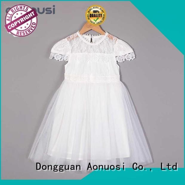 Aonousi version kids fashion dress manufacturers for kids
