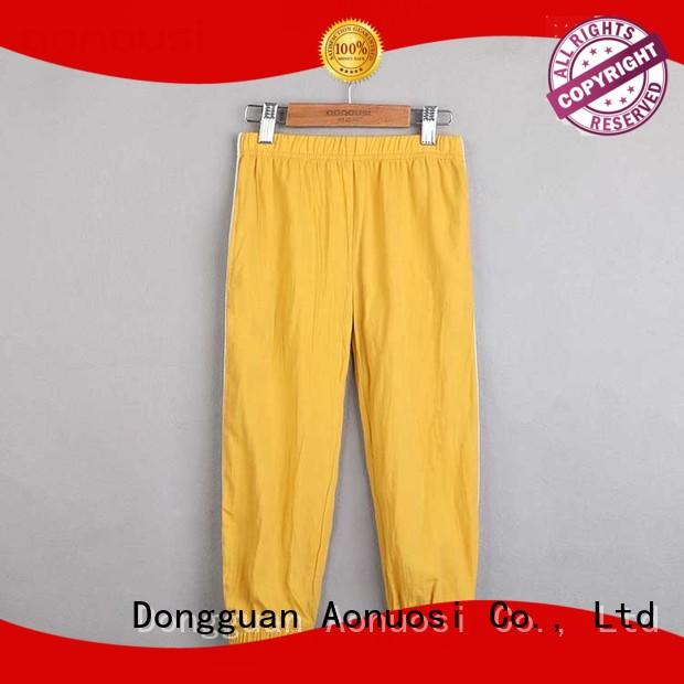 Aonousi Wholesale popular girl pants company for boys