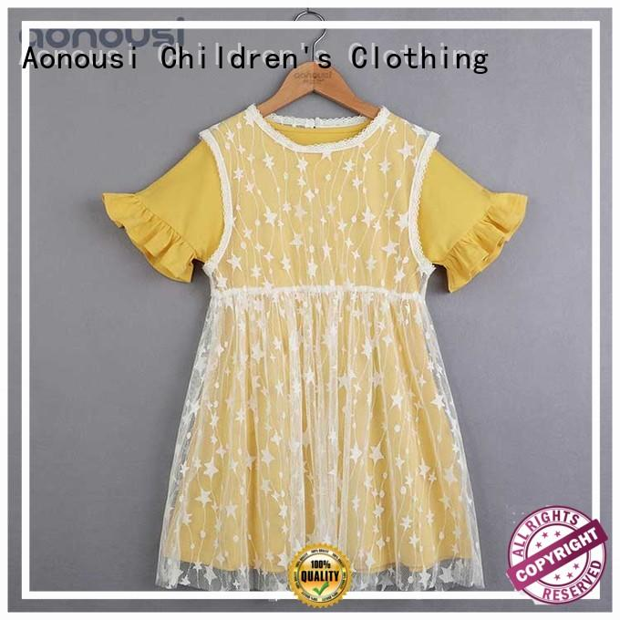 Aonousi big new girl baby dress Suppliers for girls