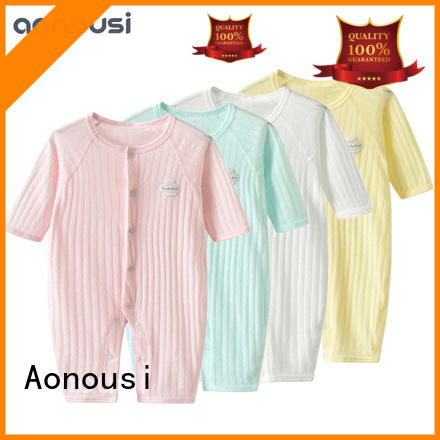 Aonousi print wholesale baby boutique clothing factory for kids