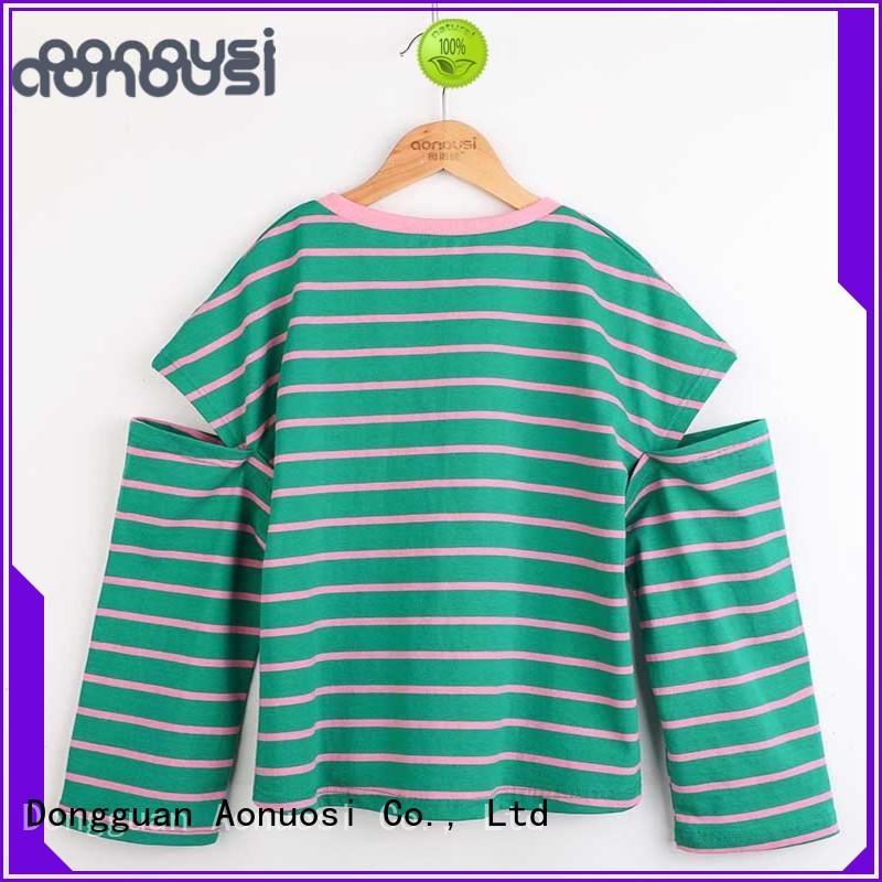 Aonousi cotton cheap childrens t shirts for kids