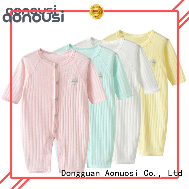 Aonousi shortsleeved newborn baby clothes set manufacturers for baby