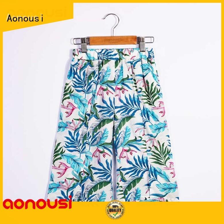 Aonousi Wholesale toddler girl pants factory for boys
