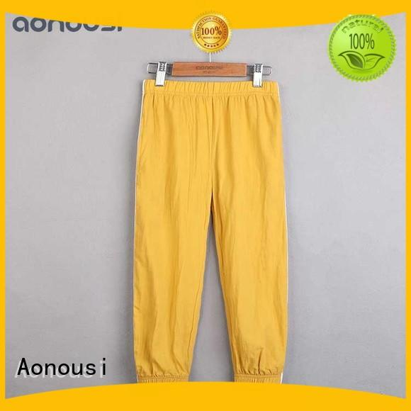 Top loose trousers for girls childrens manufacturers for boys