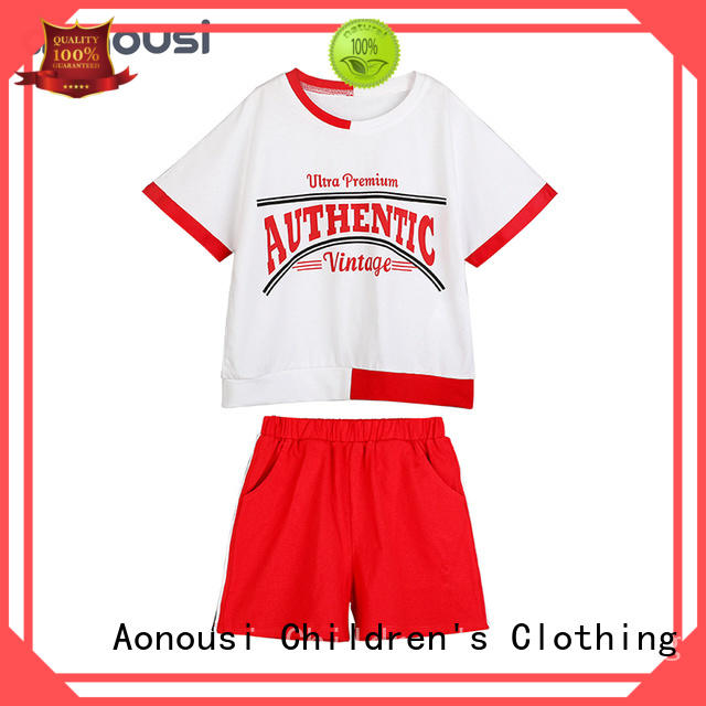 Aonousi popular toddler girl clothes company for girls