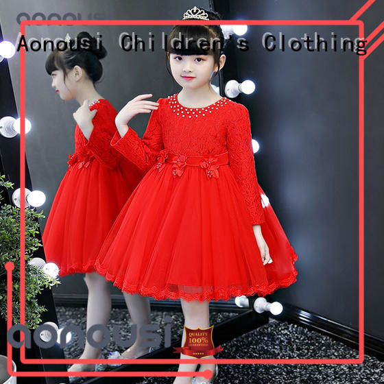 Aonousi Custom party gowns for girls factory