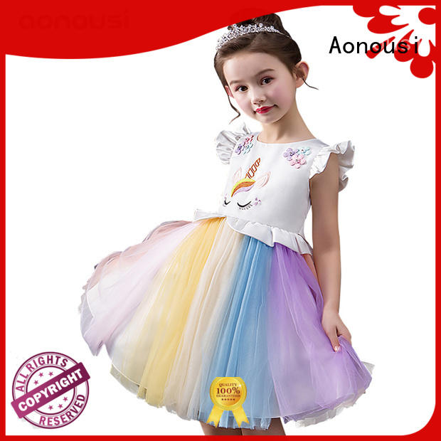 Aonousi new-arrival girls boutique clothing order now for girls