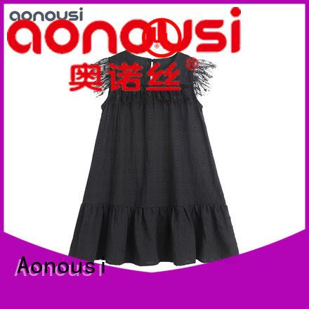 Aonousi fashion latest kids dress Suppliers for girls