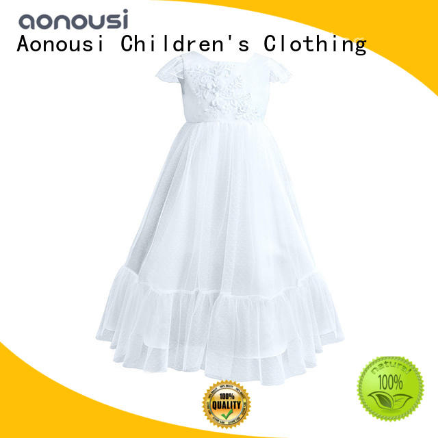 Aonousi red girls boutique clothing from manufacturer for kids