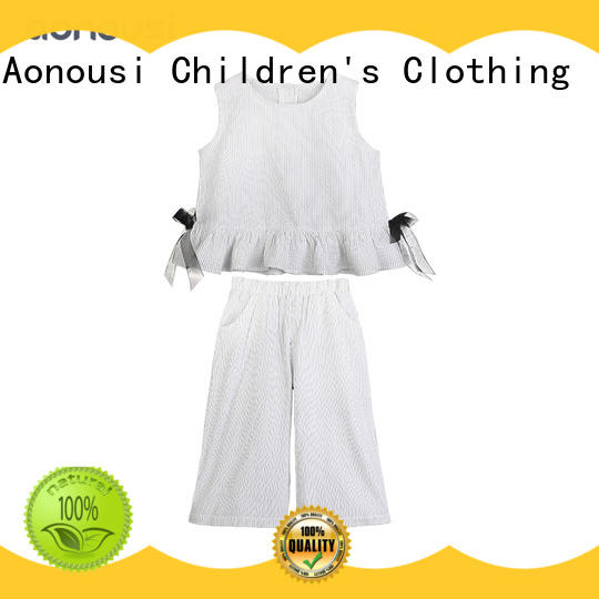 Aonousi fashion girls sets manufacturers for girls
