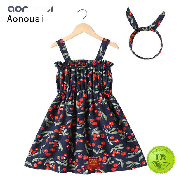 Aonousi stylish trendy baby girl clothes for girls