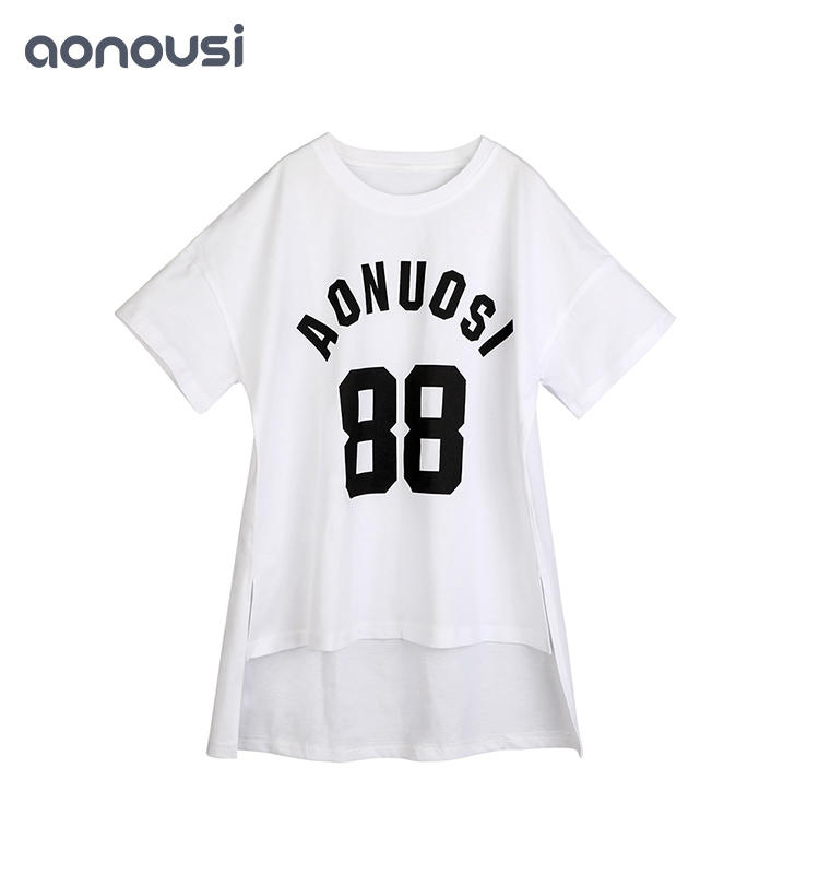 new girl t shirt Girls Summer Clothes Pure Cotton Short Sleeve T-shirt girls t shirts kids