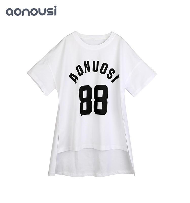 new girl t shirt Girls Summer Clothes Pure Cotton Short Sleeve T-shirt girls t shirts kids