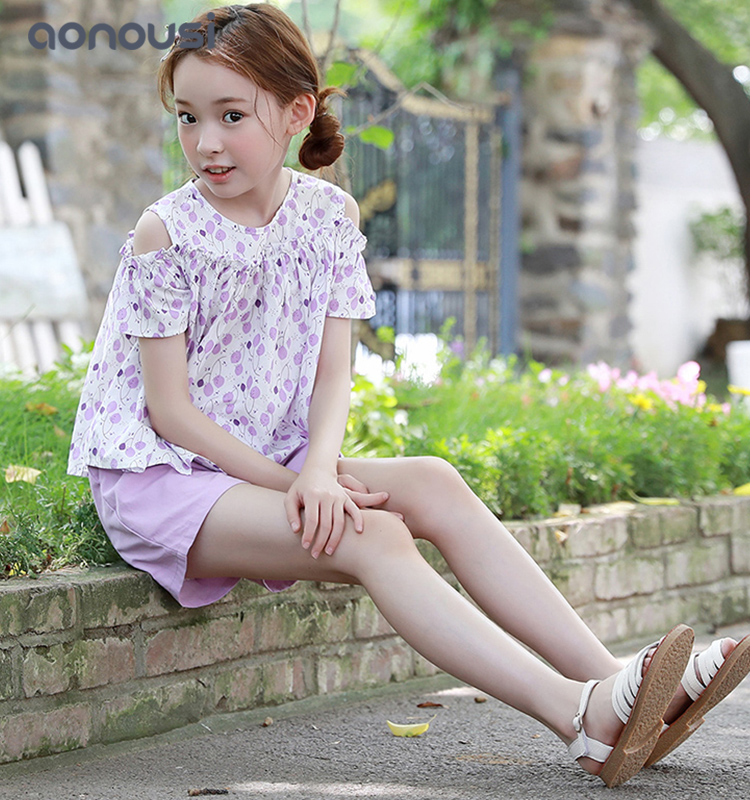 Aonousi hot-sale girls casual trousers Supply for girls-Childrens Clothing Wholesale,Wholesale Kids