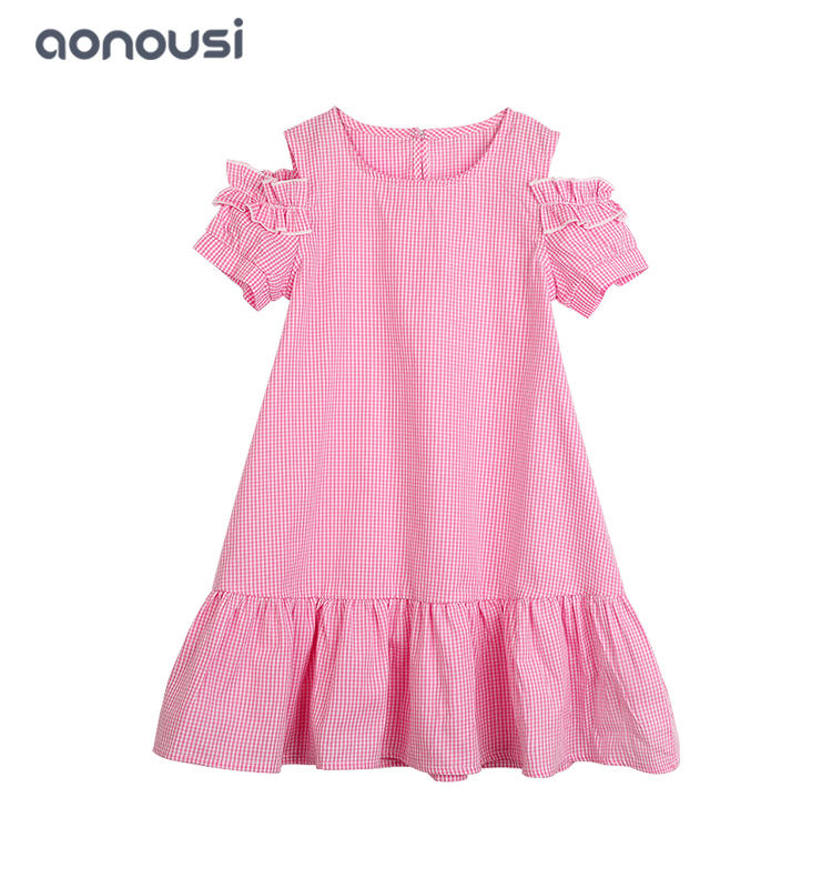 Princess Dress 2019 Designer Kids Clothes for Girls Summer Dress Casual Clothes Kid Trip Frocks Party Costume wholesale girls clothes