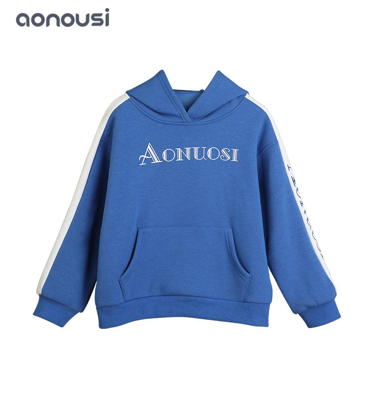 2019 New kids hoodies girls warm jackets baby outerwear Children Sleeve Head Sweater wholesale clothes wear