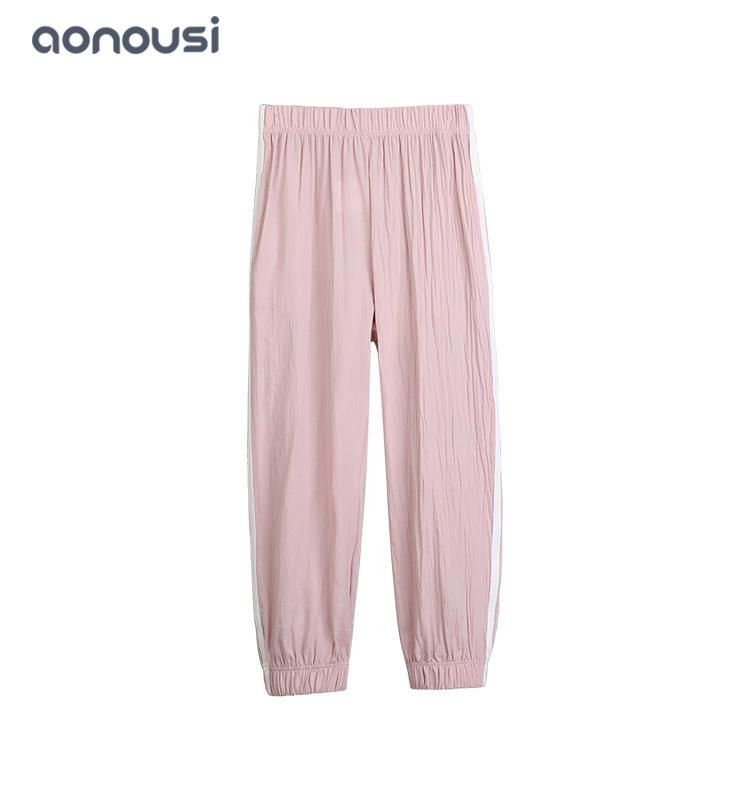wholesale girls kid pants 2019 Spring Autumn new style children sport pants