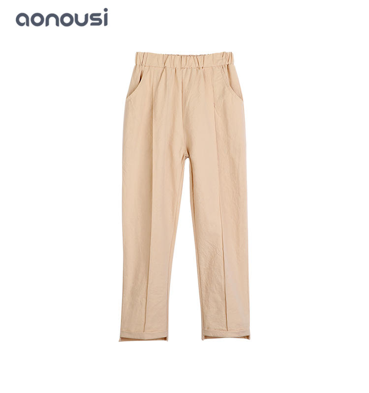 Children clothing 2019 Spring Autumn causal pants thin style girls wholesale fashion pants