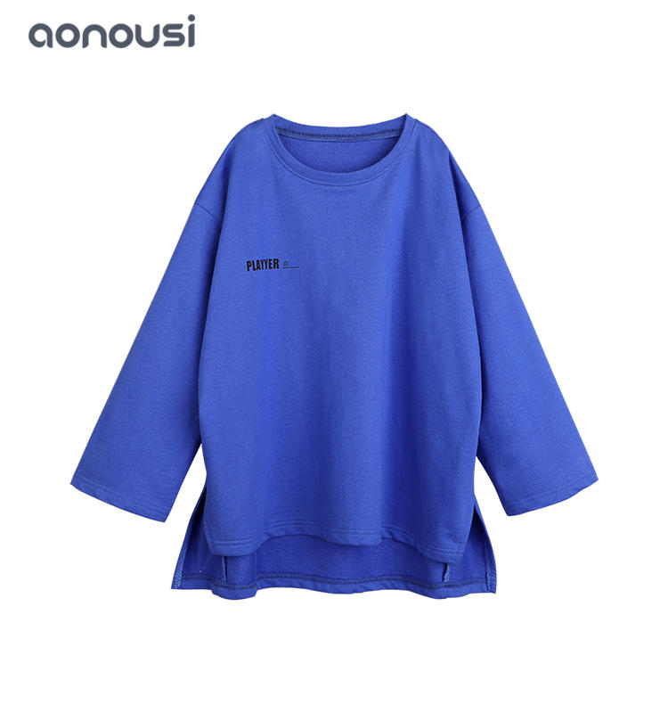 2019 Autumn new design children clothing causal clothes t shirt girls top wholesale clothes