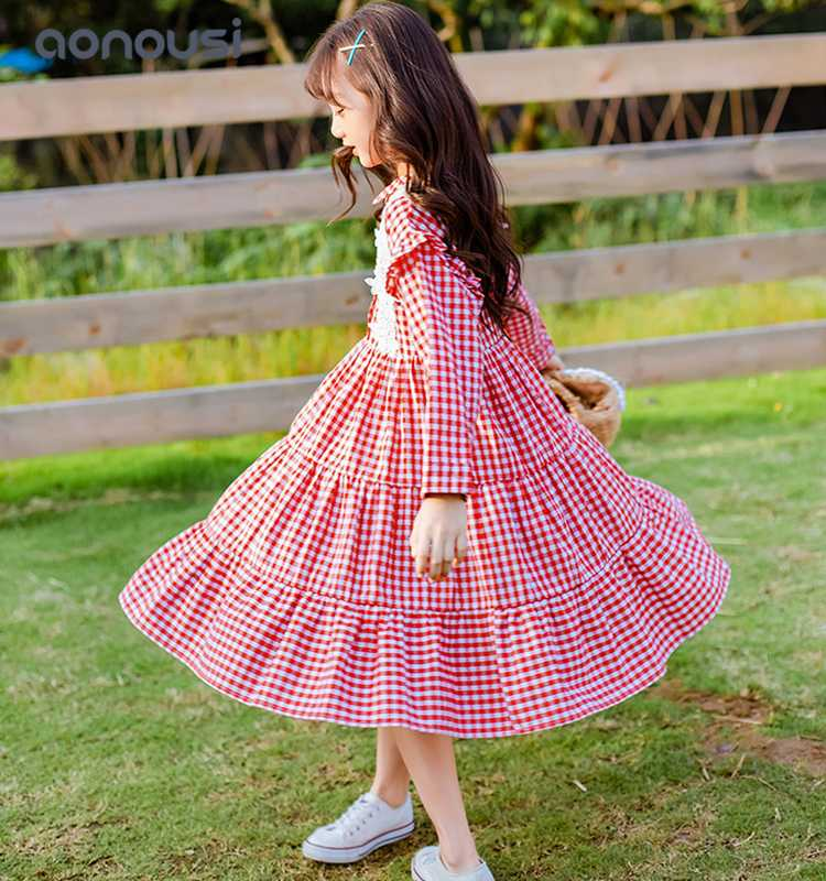 fashion kids baby dress boutique Suppliers for girls-Aonousi-img