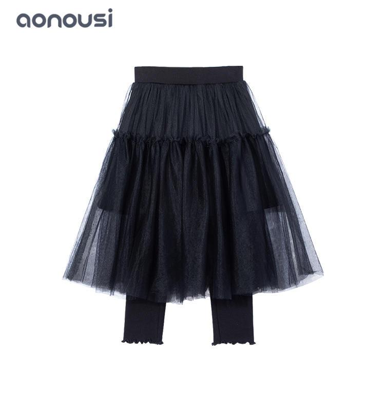 Girls clothing 2019 Autumn winter fashion white lace dresses girls pants skirt girls boutique dresses wholesale