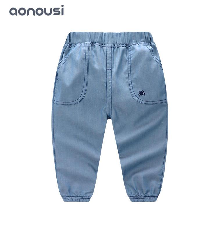 kids clothing boy thin soft casual pants boys bulk clothing
