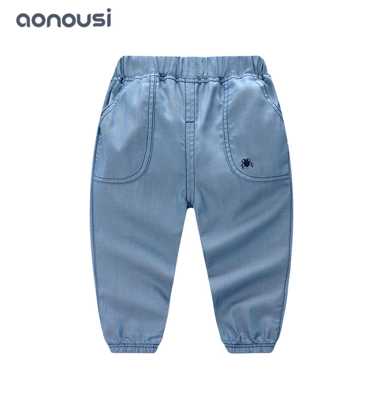 kids clothing boy thin soft casual pants boys bulk clothing