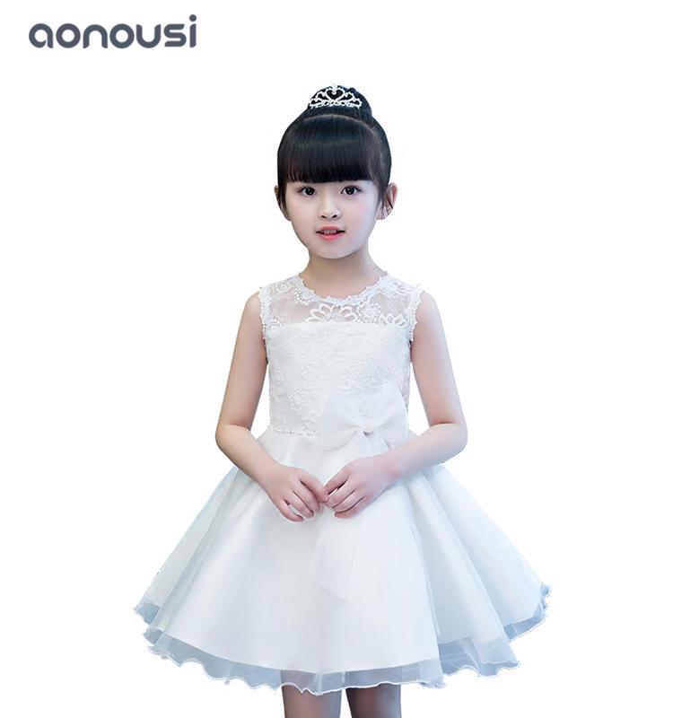 Princess dresses girls wholesale piano performance evening dresses high-end catwalk dresses