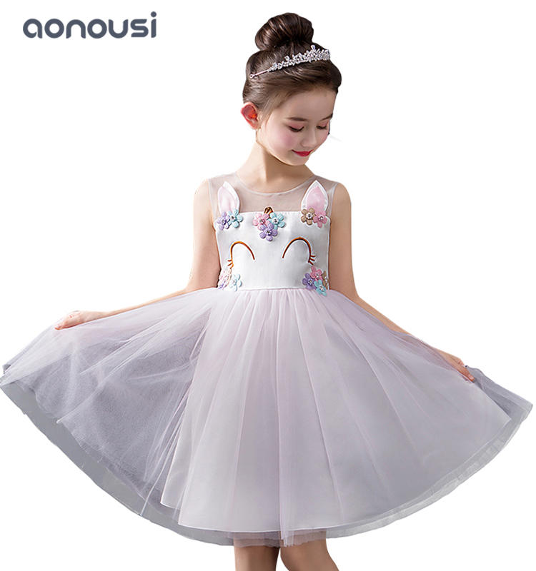 Girls clothing summer new design girls kids princess dresses sleeveless lace temperament dresses girls wholesale