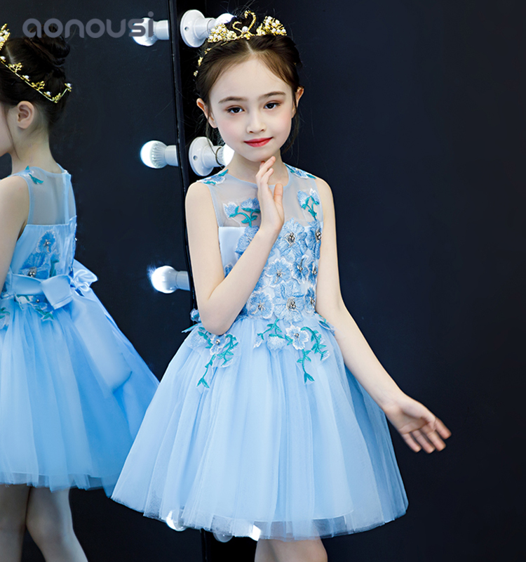 Aonousi Latest party wear for kid girl Suppliers-Aonousi-img