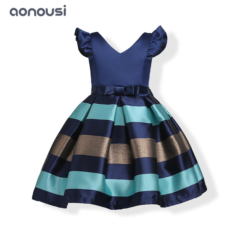 Girls dresses 2019 summer new style children bubble dresses girls wholesale evening dresses