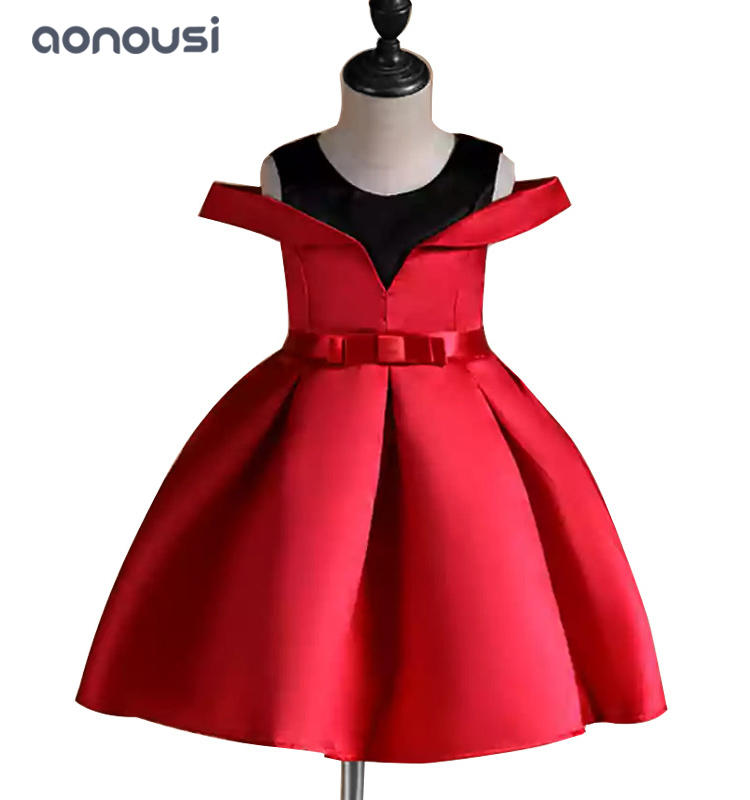Girls evening dresses new show performance dresses small middle kid dresses girls wholesale