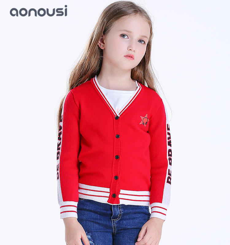 Autumn winter sweater wholesale girls long sleeves sweater children