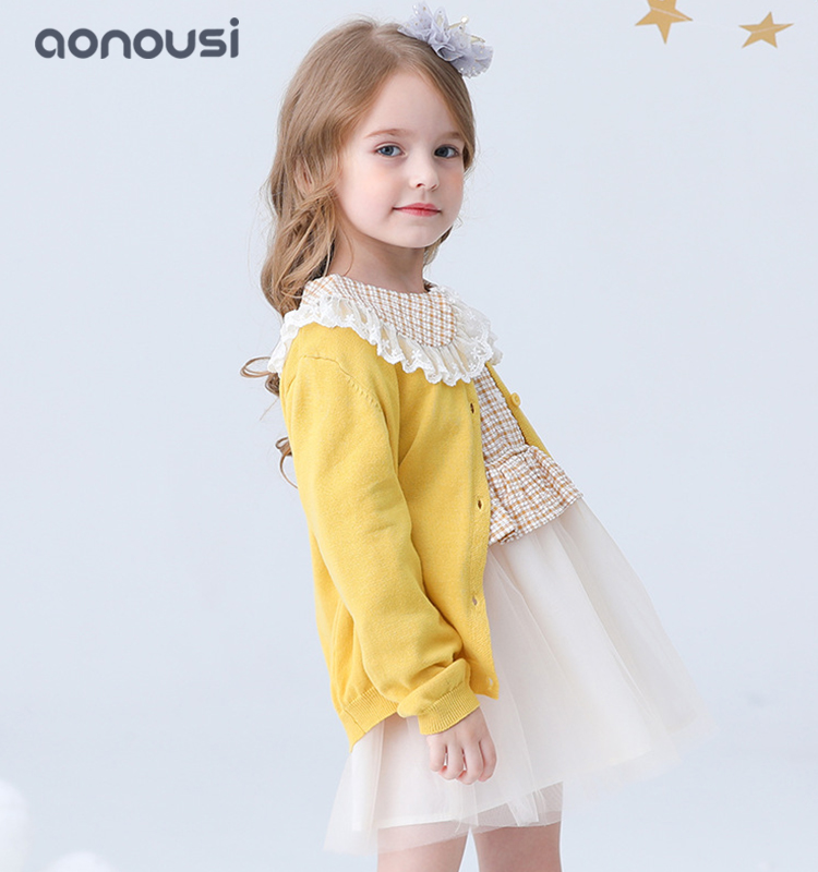 Aonousi checked baby girl clothes sale order now for girls-Aonousi-img