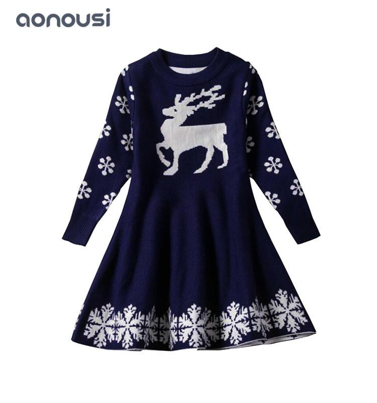 kids sweater 2019 new design black dresses princess dresses  wholesale girls dresses
