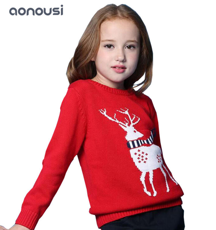 Children clothing peruvian children sweater wholesale girls winter warm sweater